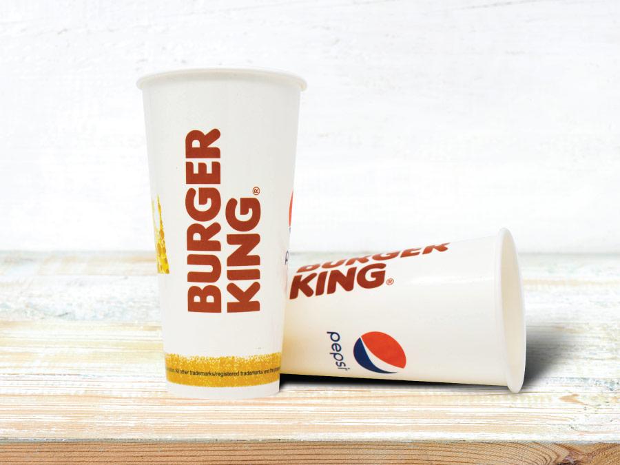 Burger King Cold Beverage Glass