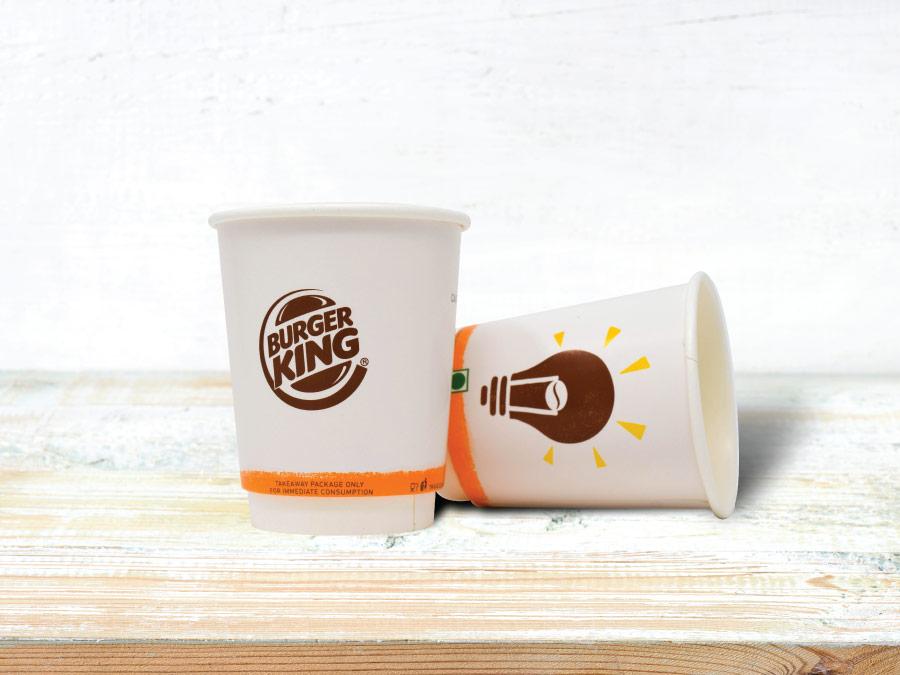 Burger King Hot Beverage Cup