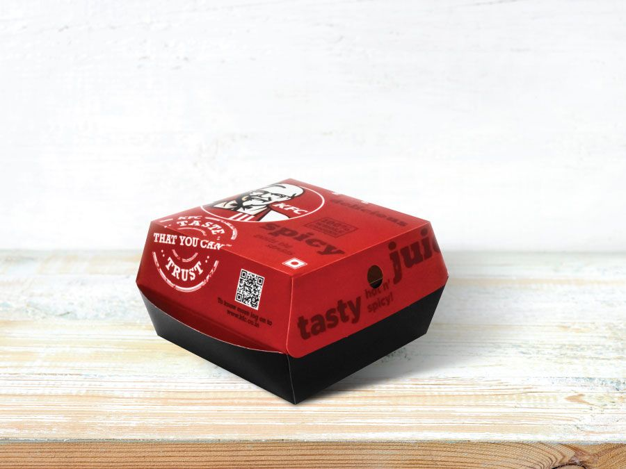 KFC Burger Clamshell